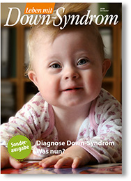 "Titel der Sonderausgabe ""Diagnose Down-Syndrom. Was nun?"""